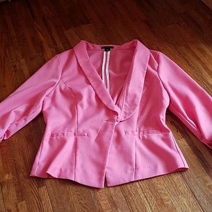 *CLEARANCE* Metaphor pink blazer